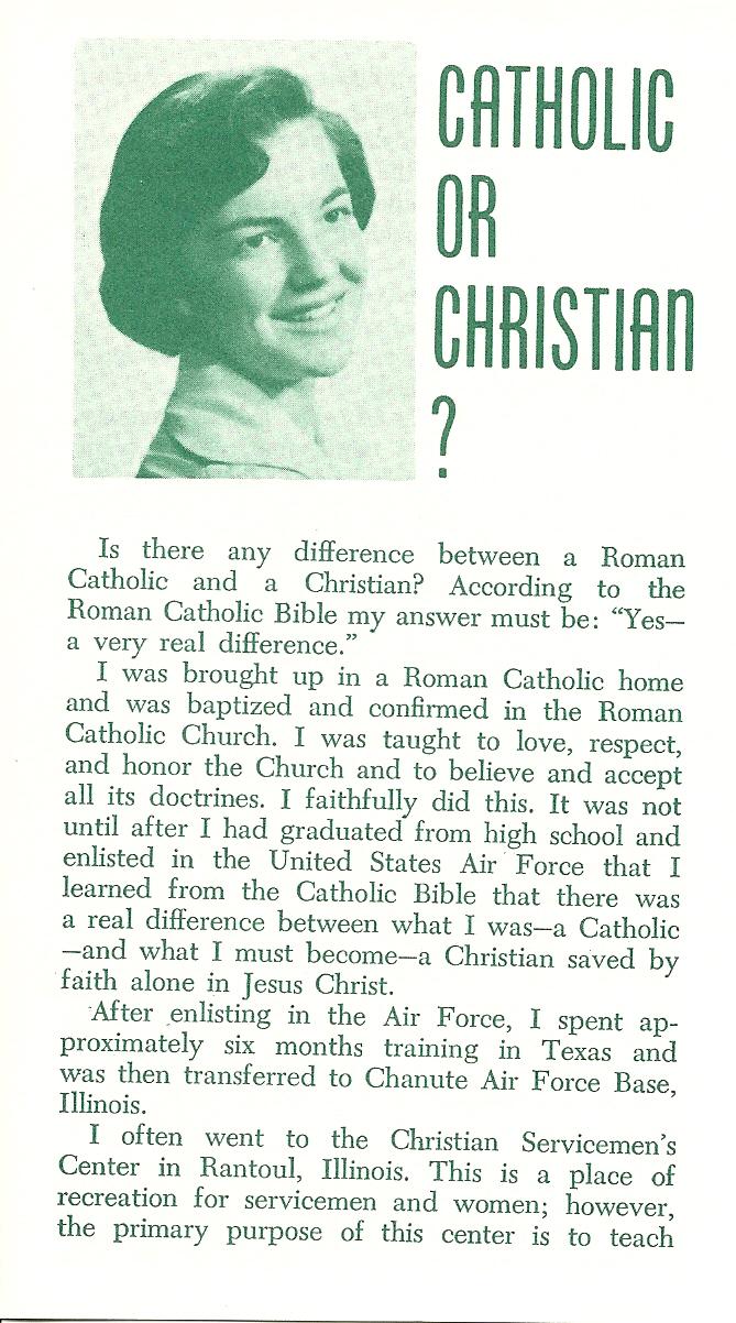 Catholic or Christian? - Stella Ciampa