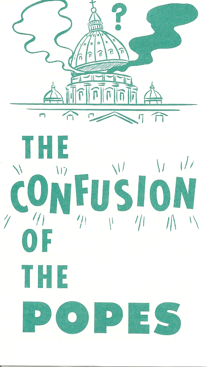 The Confusion of the Popes  -  Alex O. Dunlap