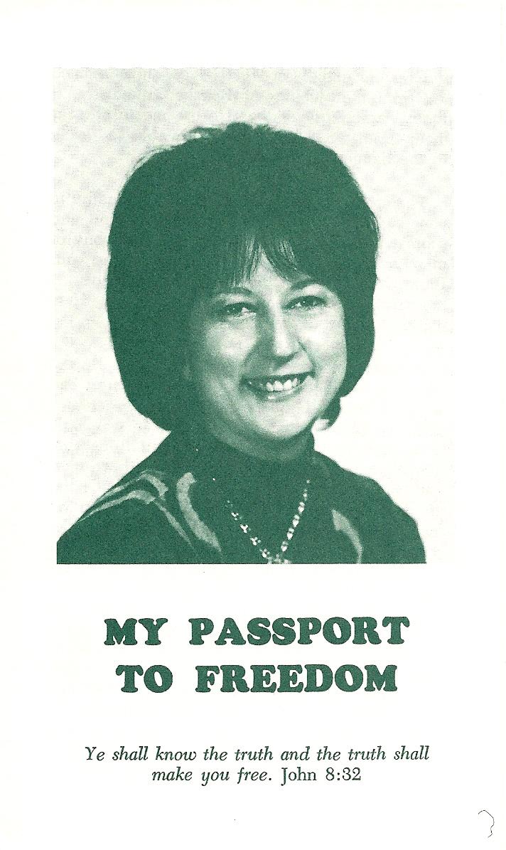 My Passport to Freedom -  Jeanne Lunkowski