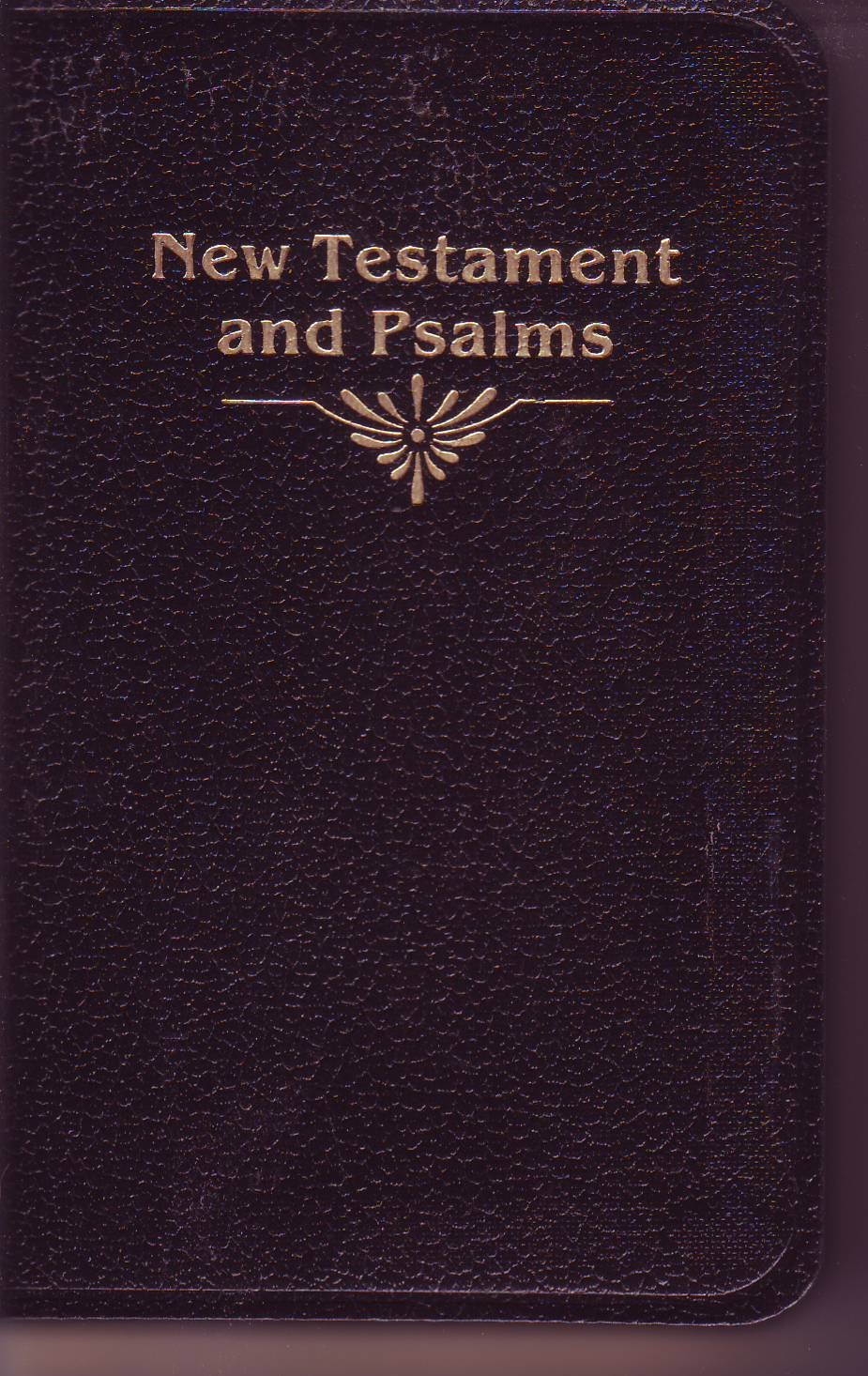 New Testament & Psalms - KJV